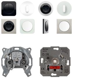 design schakelaars en stopcontact